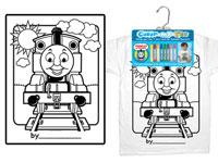 Color My Tee Child T-Shirt Thomas The Tank Engine