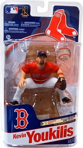 McFarlane Toys MLB Sports Picks Series 28 Action Figure Kevin Youkilis (Boston Red Sox) Red Jersey