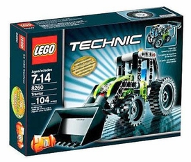 LEGO Technic Set #8260 Tractor Damaged Package, Mint Contents!