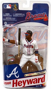 McFarlane Toys MLB Sports Picks Series 28 Action Figure Jason Heyward (Atlanta Braves) White Jersey