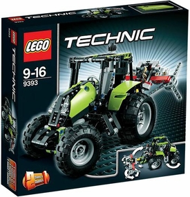 LEGO Technic Exclusive Set #9393 Tractor
