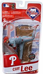 McFarlane Toys MLB Sports Picks Series 28 Extended Action Figure Cliff Lee (Philadelphia Phillies)