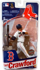 McFarlane Toys MLB Sports Picks Series 28 Extended Action Figure Carl Crawford (Boston Red Sox)