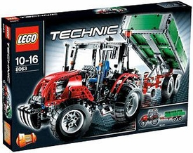 LEGO Technic Set #8063 Tractor with Trailer Damaged Packaging, Mint Contents!