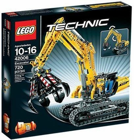 LEGO Technic Set #42006 Excavator