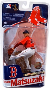 McFarlane Toys MLB Sports Picks Series 28 Action Figure Daisuke Matsuzaka (Boston Red Sox) Red Jersey Bronze Collector Level Only 2,625 Made!