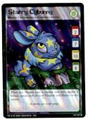 Neopets Trading Card Game Return of Dr. Sloth Holofoil Rare Single #18 Starry Cybunny