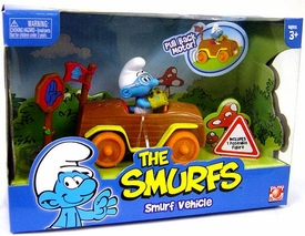 Smurfs Playset Smurf Vehicle