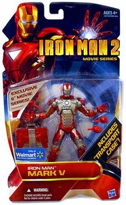 Iron Man 2 Movie Series Exclusive 6 Inch Action Figure Iron Man Mark V with Briefcase