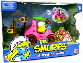 Smurfs Playset Smurfette's Vehicle