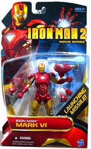 Iron Man 2 Movie Series 6 Inch Exclusive Action Figure Iron Man Mark VI