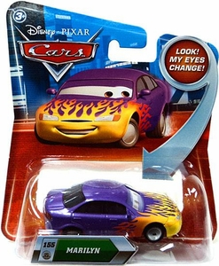 Disney / Pixar CARS Movie 1:55 Die Cast Car with Lenticular Eyes Series 2 Marilyn