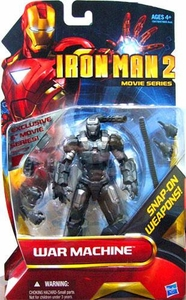 Iron Man 2 Movie Series 6 Inch Exclusive Action Figure War Machine