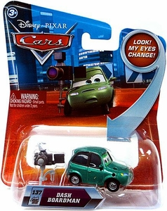Disney / Pixar CARS Movie 1:55 Die Cast Car with Lenticular Eyes Series 2 Dash Boardman
