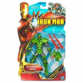 Iron Man The Armored Avenger Legends Series 6 Inch Action Figure Titanium Man