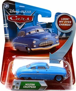 Disney / Pixar CARS Movie 1:55 Die Cast Car with Lenticular Eyes Series 2 Milton Calypeer
