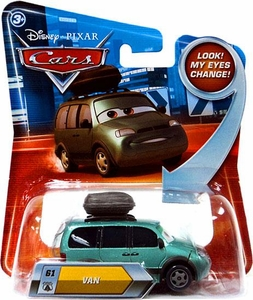 Disney / Pixar CARS Movie 1:55 Die Cast Car with Lenticular Eyes Series 2 Van