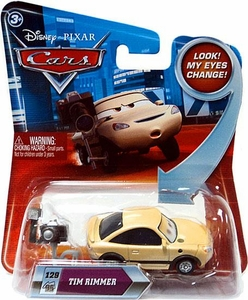 Disney / Pixar CARS Movie 1:55 Die Cast Car with Lenticular Eyes Series 2 Tim Rimmer