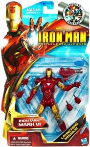 Iron Man The Armored Avenger Legends Series 6 Inch Action Figure Iron Man [Mark VI]