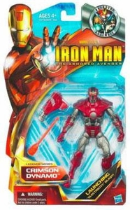 Iron Man The Armored Avenger Legends Series 6 Inch Action Figure Crimson Dynamo