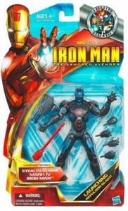Iron Man The Armored Avenger Legends Series 6 Inch Action Figure Stealth Strike Mark IV Iron Man