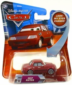 Disney / Pixar CARS Movie 1:55 Die Cast Car with Lenticular Eyes Series 2 Skip Ricter