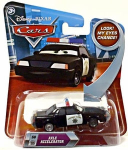 Disney / Pixar CARS Movie 1:55 Die Cast Car with Lenticular Eyes Series 2 Axle Accelerator