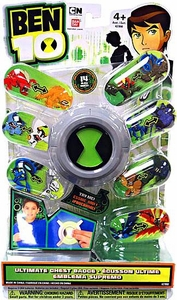 Ben 10 Roleplay Toy Ultimate Chest Badge