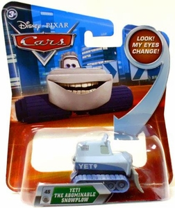 Disney / Pixar CARS Movie 1:55 Die Cast Car with Lenticular Eyes Series 2 Yeti The Abominable Snowplow