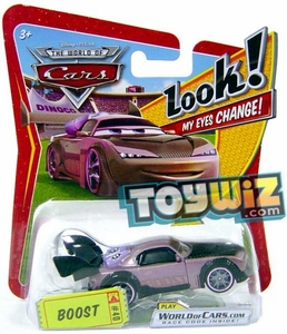 Disney / Pixar CARS Movie 1:55 Die Cast Car with Lenticular Eyes Series 1 Boost