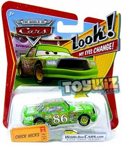 Disney / Pixar CARS Movie 1:55 Die Cast Car with Lenticular Eyes Series 1 Chick Hicks