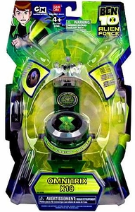 Ben 10 Alien Force Roleplay Toy 2010 Omnitrix Watch X10