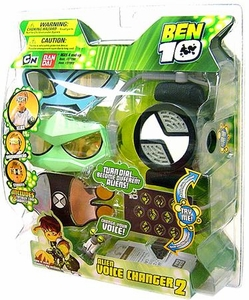 Ben 10 Roleplay Alien Voice Changer #2 [XLR8, Diamondhead & Stinkfly Glasses Set]
