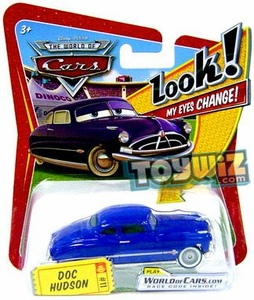 Disney / Pixar CARS Movie 1:55 Die Cast Car with Lenticular Eyes Series 1 Doc Hudson