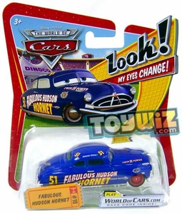 Disney / Pixar CARS Movie 1:55 Die Cast Car with Lenticular Eyes Series 1 Fabulous Hudson Hornet