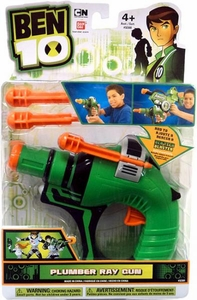 Ben 10 Tech Gear Roleplay Toy Plumber Ray Gun