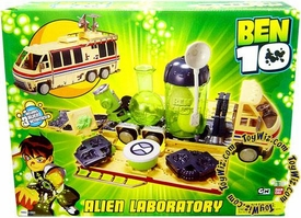 Ben 10 Alien Lab Playset Max's DX Laboratory LOOSE Missing 6 out of 10 Alien Molds