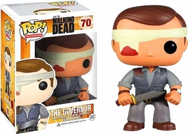 Funko POP! Walking Dead PX Previews Exclusive Vinyl Figure The Governor [Bandaged] New!