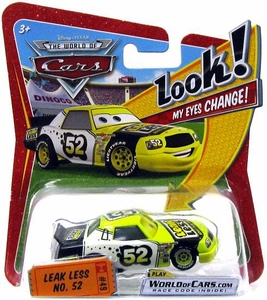 Disney / Pixar CARS Movie 1:55 Die Cast Car with Lenticular Eyes Series 1 Leak Less No. 52