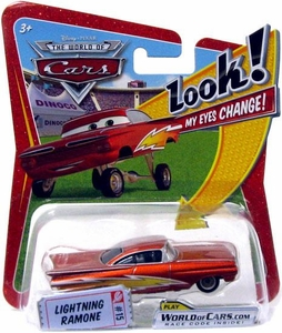 Disney / Pixar CARS Movie 1:55 Die Cast Car with Lenticular Eyes Series 1 Lightning Ramone