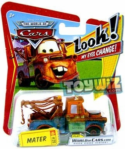 Disney / Pixar CARS Movie 1:55 Die Cast Car with Lenticular Eyes Series 1 Mater