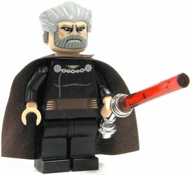 LEGO Star Wars Clone Wars LOOSE Mini Figure Count Dooku with Silver Lightsaber