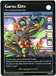 Neopets Trading Card Game Return of Dr. Sloth Uncommon Single #50 Garoo Elite