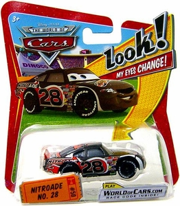 Disney / Pixar CARS Movie 1:55 Die Cast Car with Lenticular Eyes Series 1 Nitroade