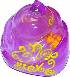 Xia-Xia Pets Hermit Crab Shell Purple with Yellow Swirls
