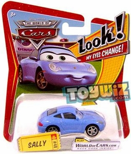 Disney / Pixar CARS Movie 1:55 Die Cast Car with Lenticular Eyes Series 1 Sally