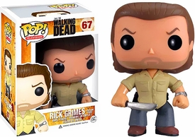 Funko POP! Walking Dead Vinyl Figure Prison Yard Rick Grimes New!