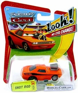 Disney / Pixar CARS Movie 1:55 Die Cast Car with Lenticular Eyes Series 1 Snot Rod