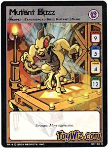 Neopets Trading Card Game Return of Dr. Sloth Uncommon Single #57 Mutant Buzz