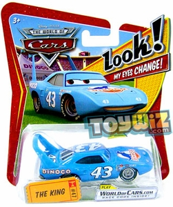 Disney / Pixar CARS Movie 1:55 Die Cast Car with Lenticular Eyes Series 1 The King
